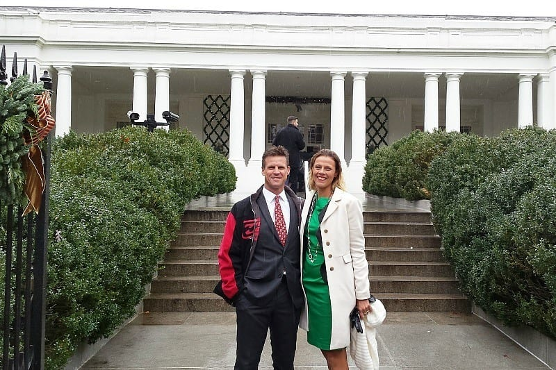 Visiting the The White House