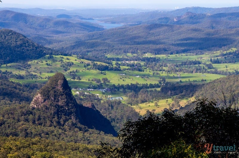 Exploring the Binna Burra Mountains in Lamington National Park, Gold Coast Hinterland, Australia