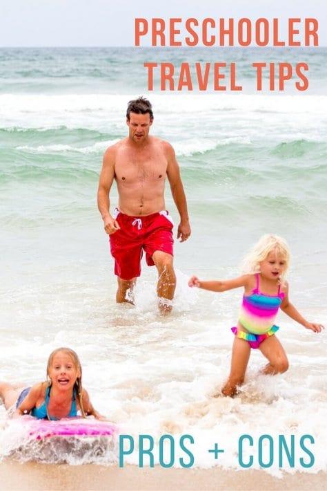 preschooler travel tips