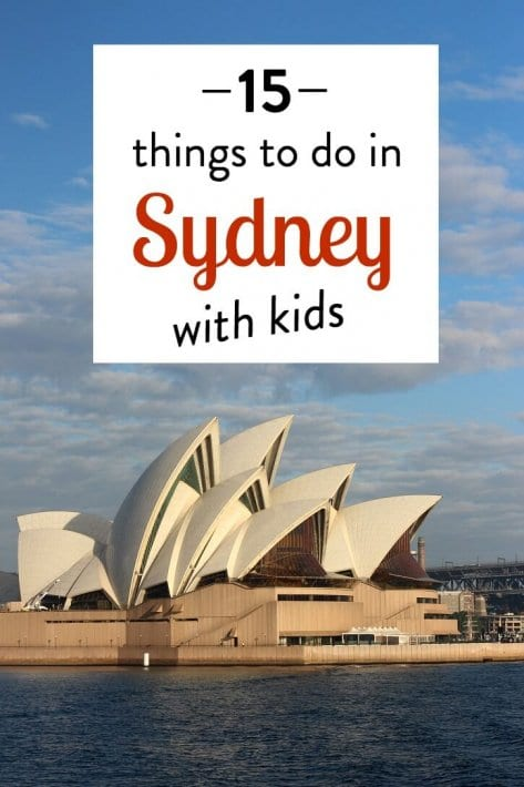Looking for the best things to do in Sydney with kids? Check out this list of 15 things that takes in the iconic highlights plus more!