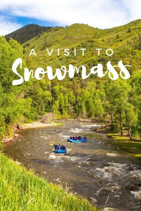 A visit to Snowmass Colorado