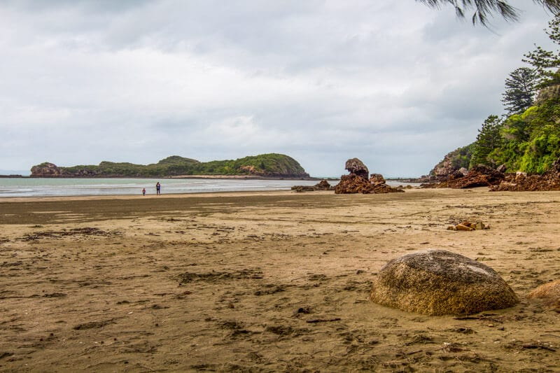 Casuarina Beach in Cape Hillsborough, Mackay
