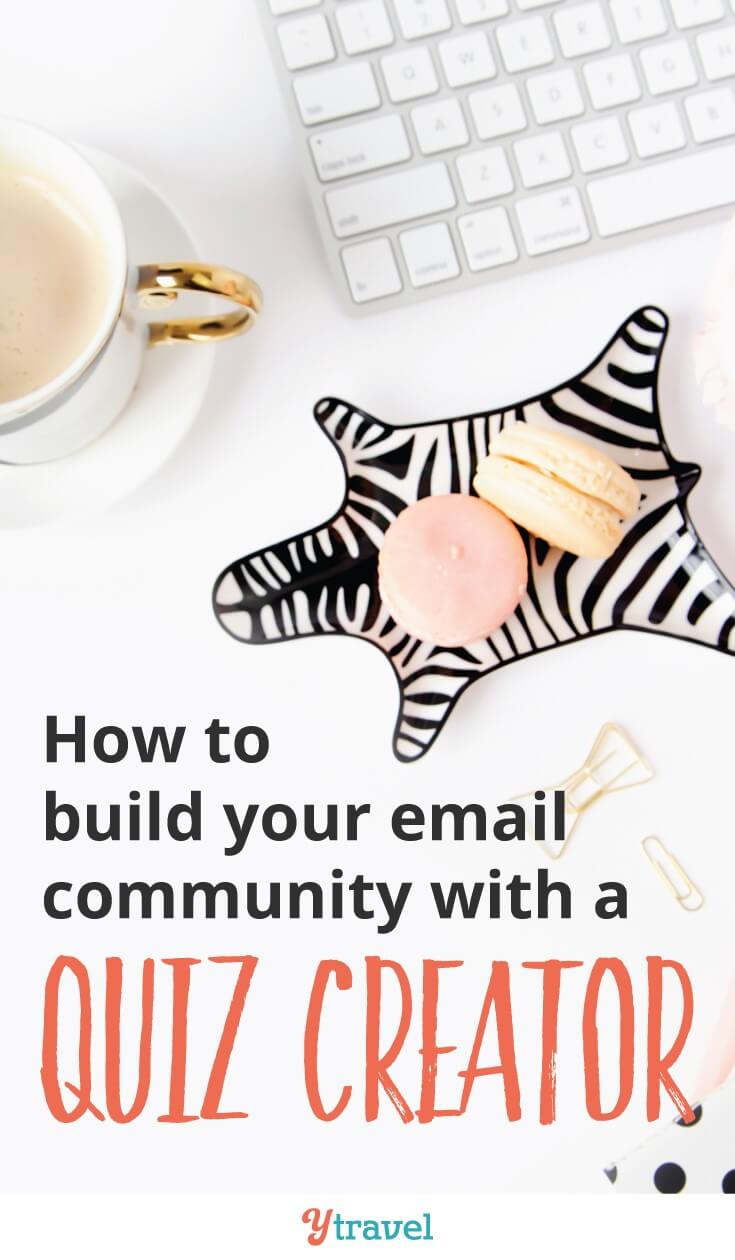 How to build your email list with an online quiz creator. Are you ready for more success with your blog? Want to increase your subscribers, traffic and income? Read my Interact review to learn an email strategy to grow your email subscribers through fun online quizzes.