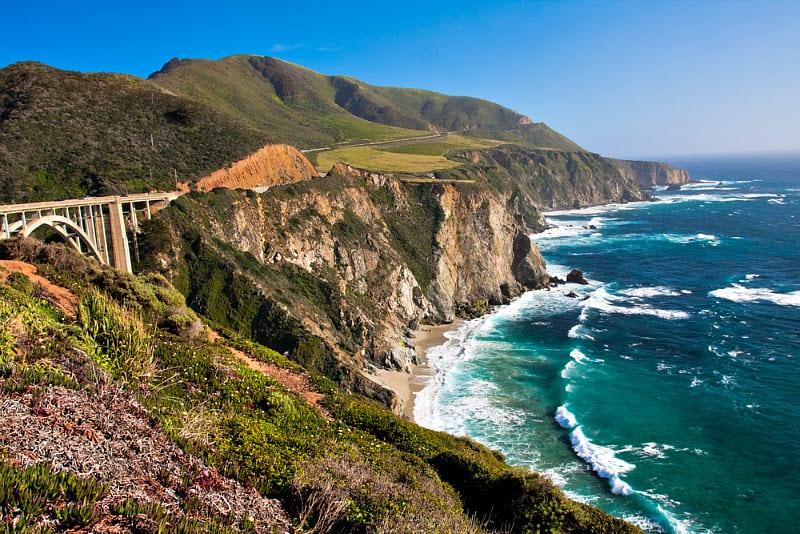 Big sur scenic drive california