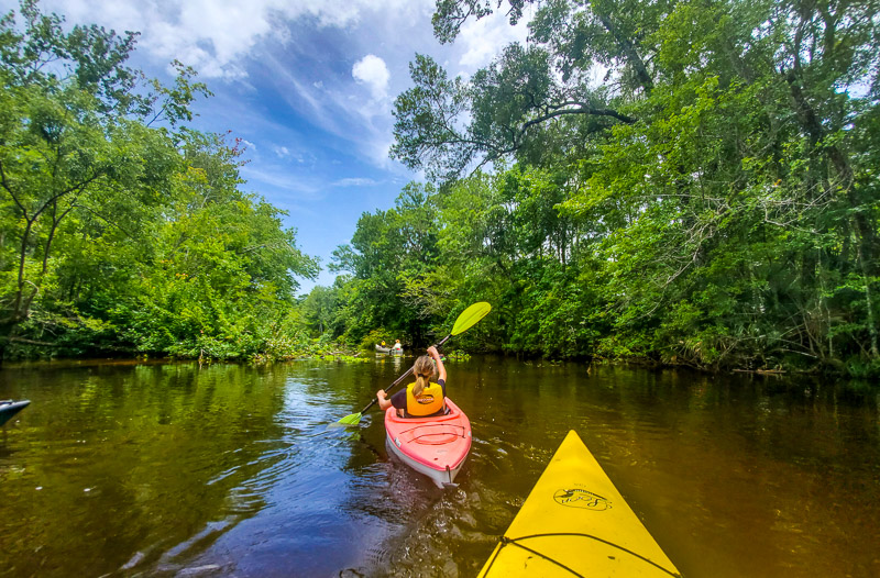 The Slave Canal, Florida