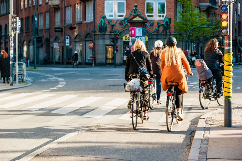 Ride a bike in Denmark