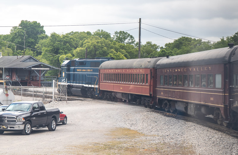 Family friendly chattanooga attraction Tennessee Valley Railroad