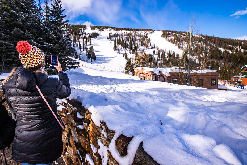 Taking in the scenery at Schweitzer