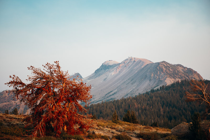 Mammoth Laes and Mammoth Mountain