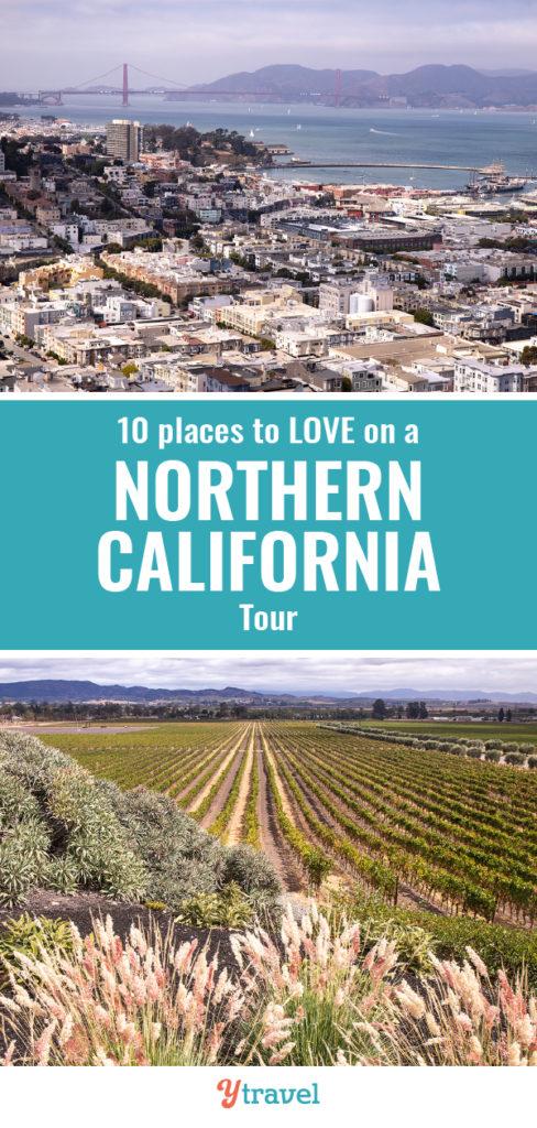 northern california globus tour