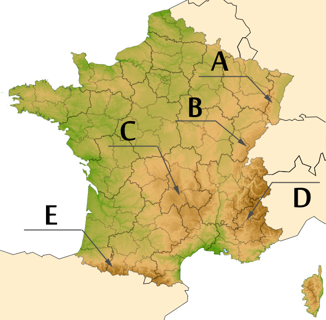 Quiz Geographie De La France Yves Traynard