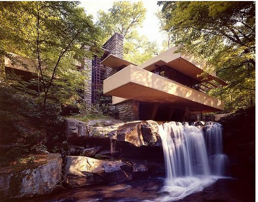 พาชมสุดยอดสถาปัตยกรรมบ้านน้ำตก Falling Water