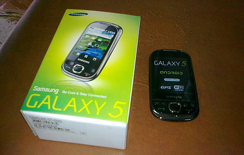 Samsung i5500 Galaxy 5 selling for Php11,400 - YugaTech