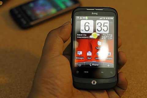 HTC Wildfire Review - YugaTech | Philippines Tech News & Reviews