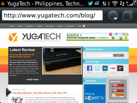 BlackBerry Bold 9900 Review - YugaTech | Philippines Tech News & Reviews