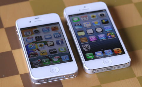 Obviously The IPhone 5 Is Much Taller Than 4S Width Just Same At 586mm But Height Increased From 1152mm To 1238mm