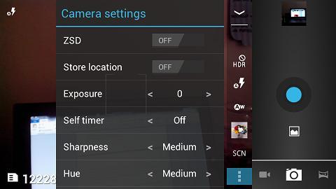 Camera UI