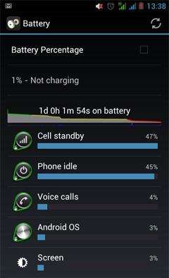 O+8.12 battery