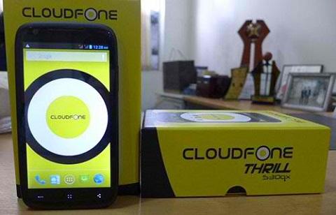 cloudfone thrill 530qx