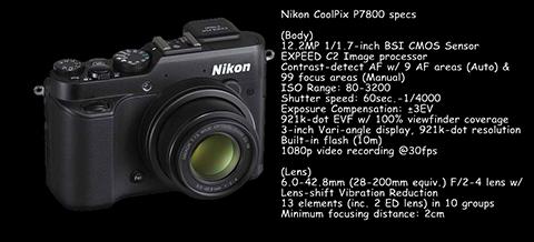 coolpix p7800