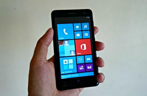 lumia 625_display