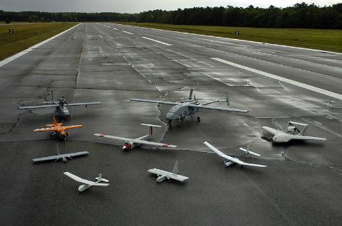 UAV drones