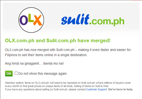 Sulit merges operations with OLX in the Philippines - YugaTech