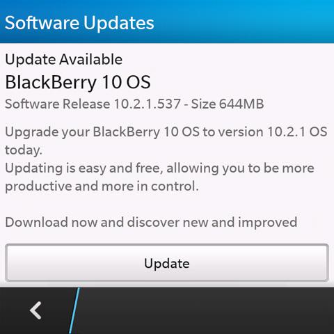 BlackBerry Z10, Q10, Q5 getting BB OS 10 2 1 update - YugaTech