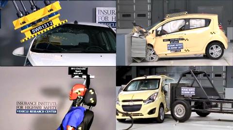 mini cars IIHS
