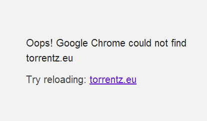 why torrentz website is not working