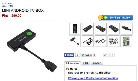 cdrking mini android tv box