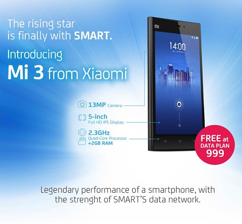 Xiaomi Mi 3 Smart