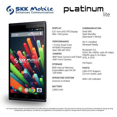 SKK Platinum Lite: 5 5-inch, quad-core for Php6K - YugaTech