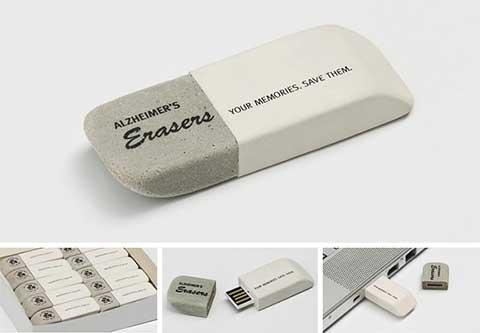 Eraser-USB-stick