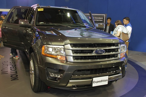 mias 2015: ford ph intros new ford expedition platinum – yugatech