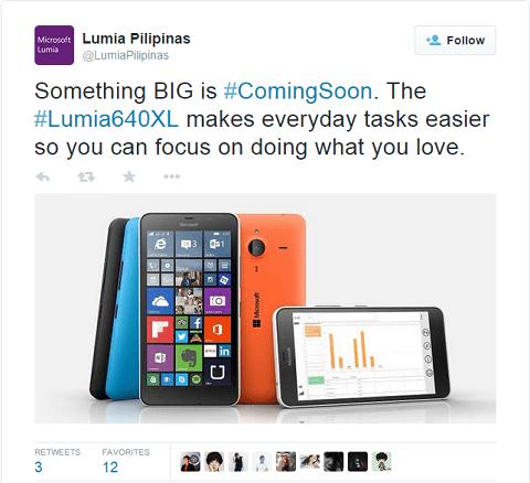 lumia 640 xl philippines