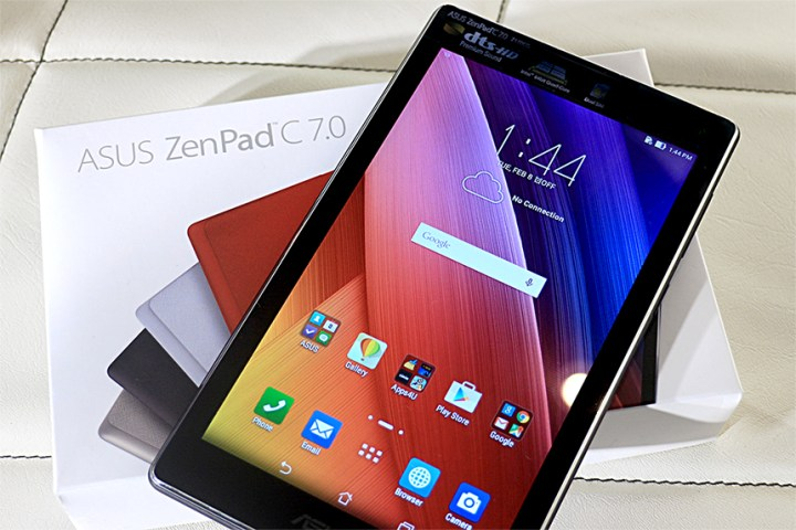 huge discount 5fd10 4c600 ASUS ZenPad C 7.0 (Z170CG) In The Flesh - YugaTech | Philippines ...