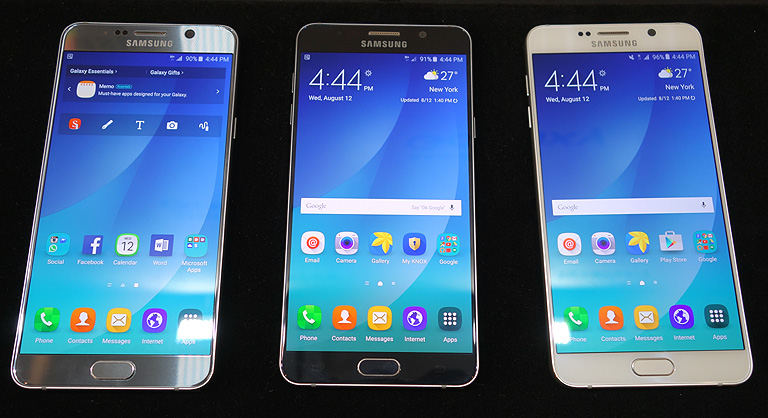 Samsung Galaxy Note 5 hands-on, first impressions - YugaTech