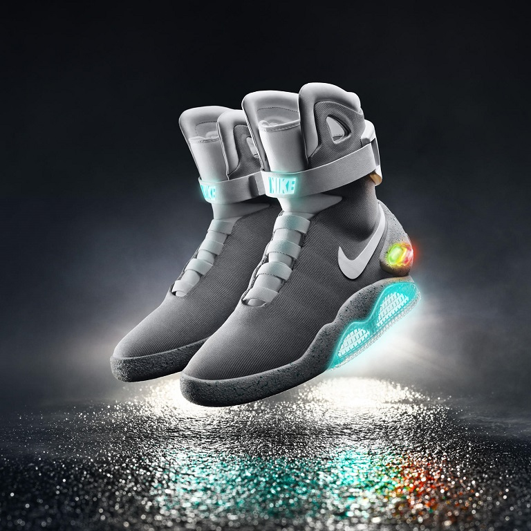 Unlike the first Nike Mag replicas released in 2011, the 2015 model  features a working self-tying mechanism. The first pair was recently sent  to Michael J. ...
