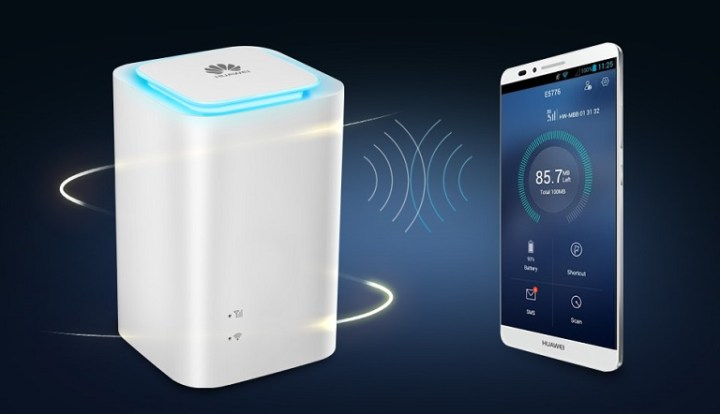 Huawei E5180 4G LTE Router Cube now available at Villman