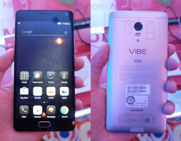 Lenovo Vibe S1, Vibe P1, and Vibe P1m launches in PH - YugaTech