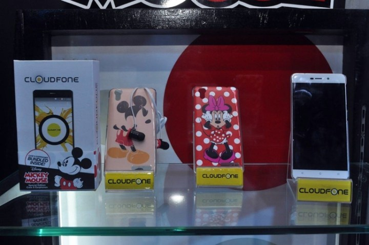 CloudFone Special Edition Phones - Disney Bundle