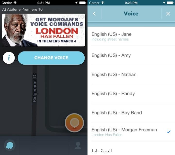 Morgan Freeman is now a downloadable voice on Waze - YugaTech