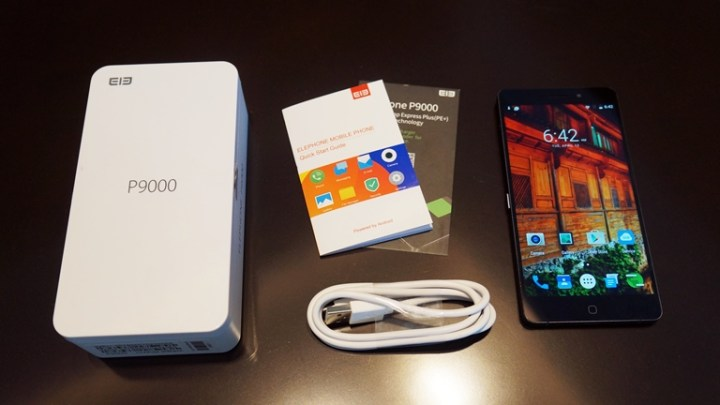 elephone-p9000-package