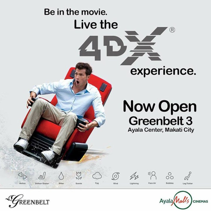 New 4DX theaters open in Greenbelt 3, UP Town Center
