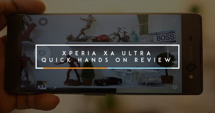 Xperia XA Quick Hands On