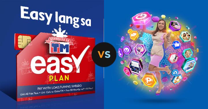 TM Easy Plan vs Globe MyStarter Plan: Which is better