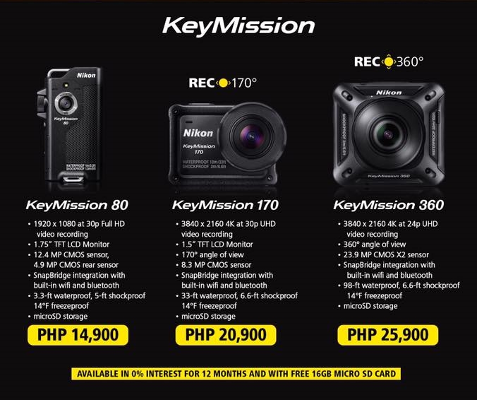 nikon-key-mission-pricing-philippines