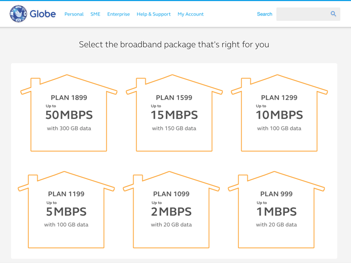 Globe launches broadband availability finder tool YugaTech