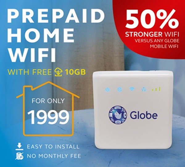 Globe Prepaid Home WiFi Now At Php2k, 10GB Free Data » YugaTech |  Philippines Tech News U0026 Reviews